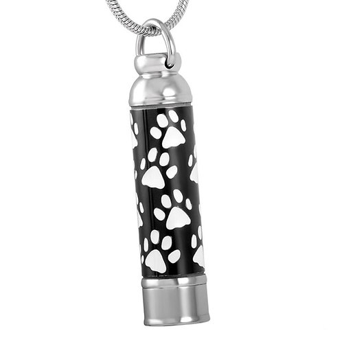 J-076 Stainless Steel Cremation Urn Pendant