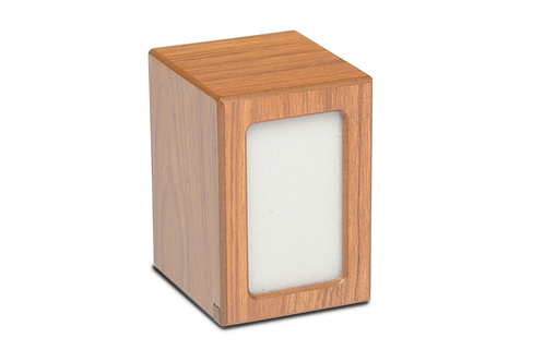 PY06 Photo Frame  Wood Pet Urn - Light Brown