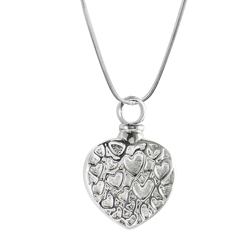 J-008 Hearts Necklace