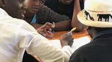 UP Returns to Jifundishe Free Library 7/17