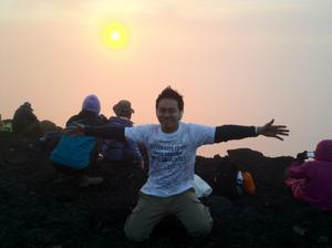 Arnon recomenda pesquisa para quem quer subir a montanha. (foto: acervo pessoal)