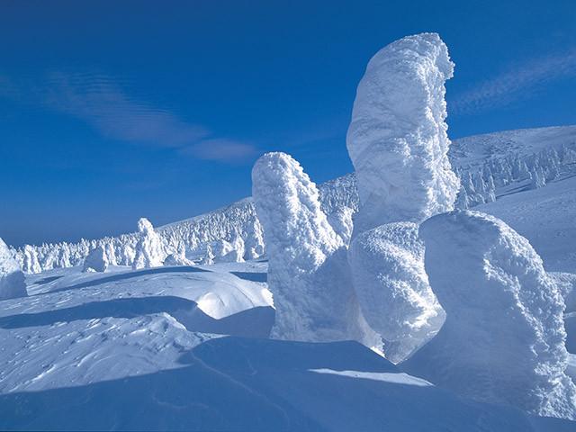 Monstros de gelo mostram a resiliência da natureza.