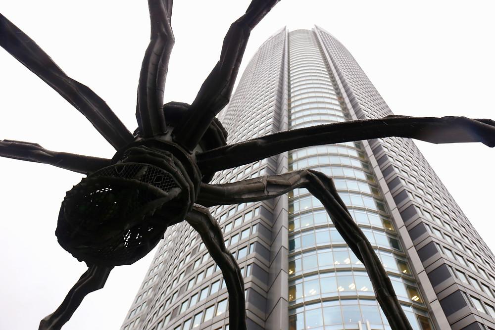 Bourgeois se inspirou na própria mãe para criar a icônica aranha.