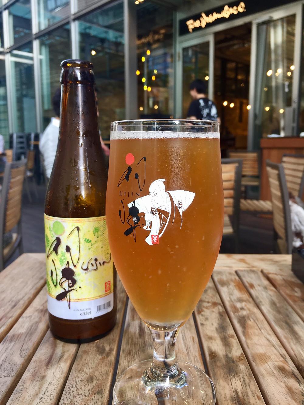 A Yuzu Blond é uma das variedades da cerveja Uijin, produção exclusiva do Rio Brewing & Co.