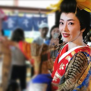 Festival relembra as oiran, cortesãs de luxo da Era Edo