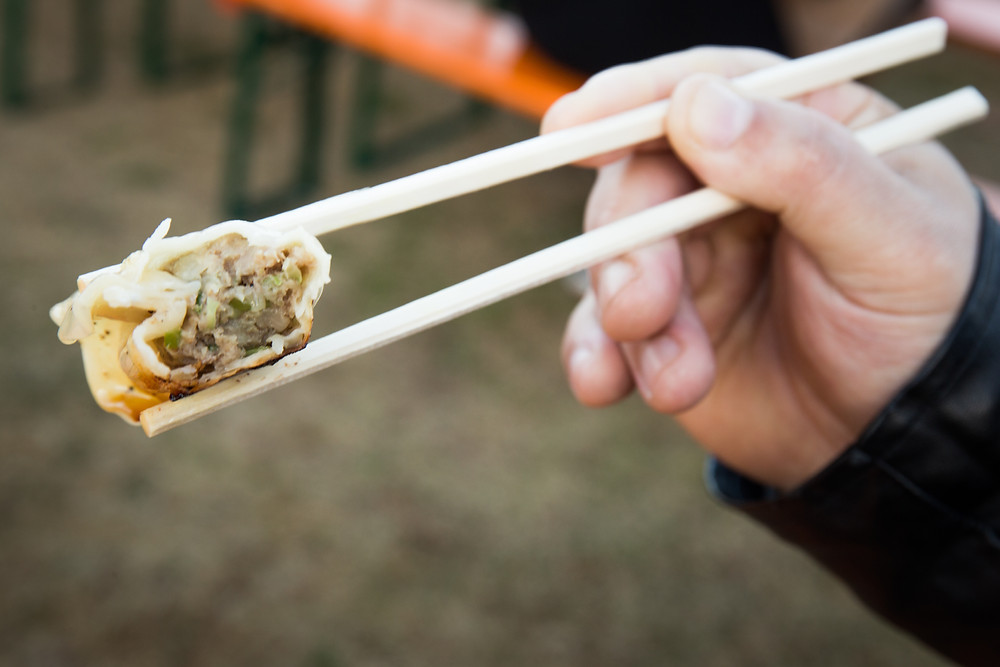 Carne de alta qualidade é o ingrediente de maior destaque no gyoza do Paou.