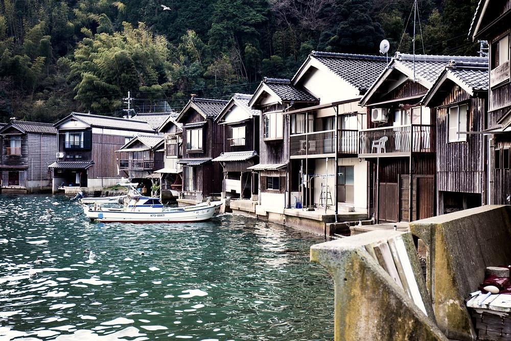 São mais de 200 casas preservadas.
