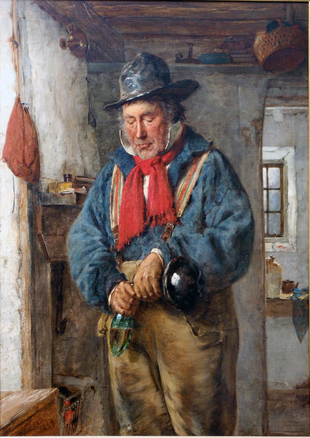 pintura a óleo, Erskine Nicol (1869)
