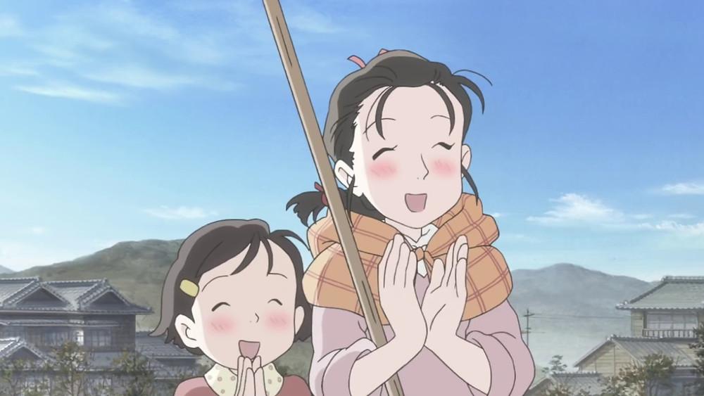 """Cena do filme """"Kono Sekai no Katasumi ni"""" de Sunao Katabuchi"""