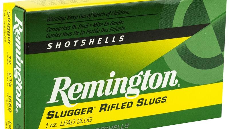 """Remington Slugger Rifled Slug 12 Gauge  2-3/4"""" 1oz. Lead Slug"""