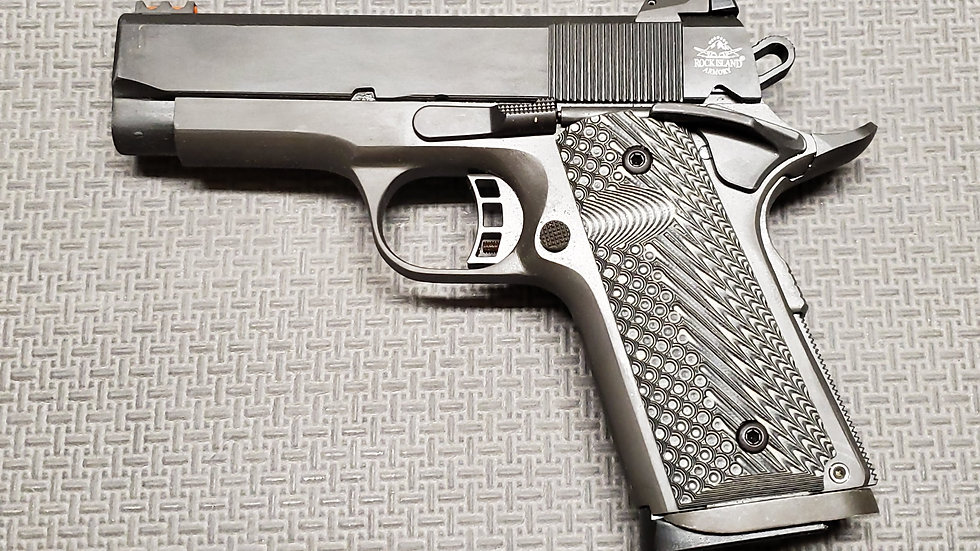 M1911-A1 CS TACTICAL II 45ACP COMPACT | FULLY PARKERIZED 45 ACP