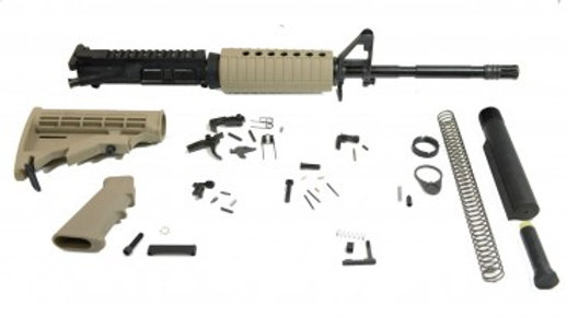"PSA 16"" 5.56 NATO M4 CARBINE CLASSIC RIFLE KIT, FLAT DARK EARTH"