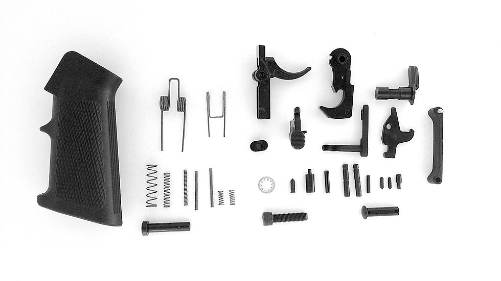 AR15 Complete Lower Parts Kit w/ Pistol Grip and Trigger