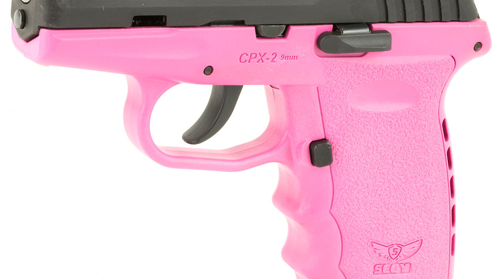 "SCCY CPX-2 9MM 3.1"" 10RD BL/PINK"
