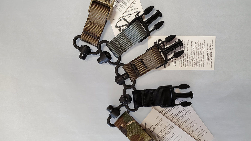 Savvy Sniper Sling Attachments