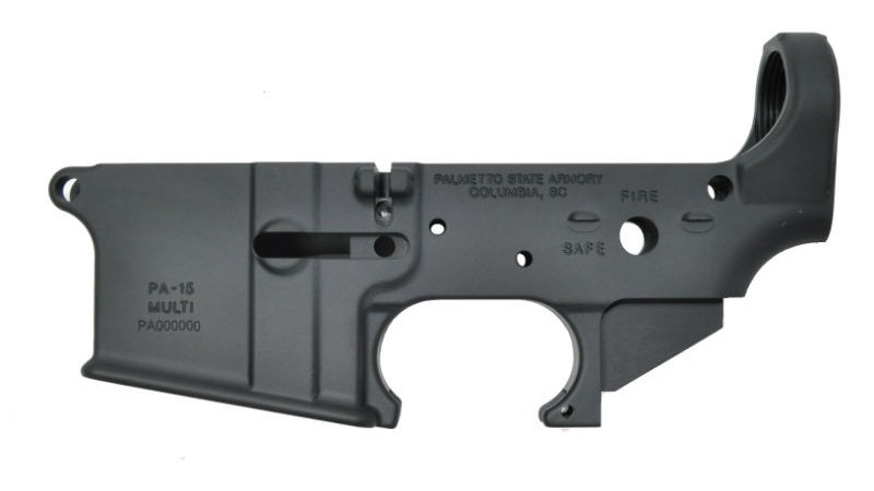 "PSA AR-15 ""STEALTH"" STRIPPED LOWER RECEIVER"