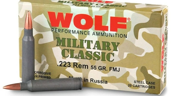 Wolf Military Classic .223 55gr. FMJ