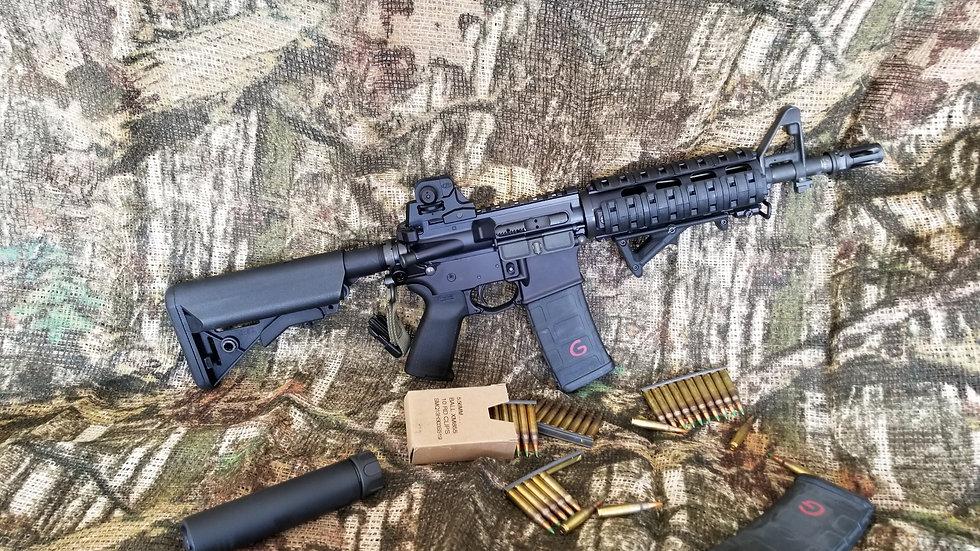 """Gevas Defense Gd15 mk18 556Nato Pistol 10.5"""" CHF Pistol"""