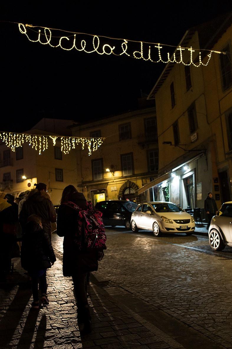 Luminarie a San Faustino