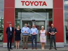Toyota Garage Boone valt in de prijzen…voor de derde keer
