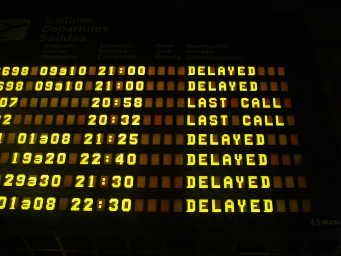 ¿Retraso o cancelación en vuelo?