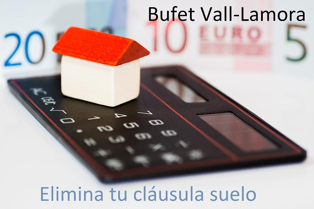 Bufet Vall-lamora abogados barcelona cláusula suelo