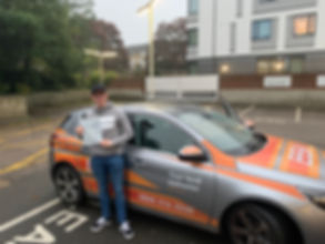 1st time driving test pass Hither Green