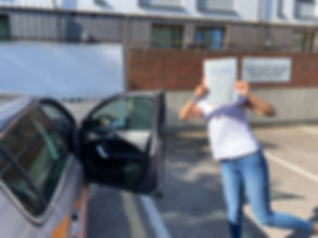 !st time driving test pass Hither Green