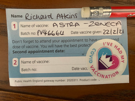 First Covid Vaccination