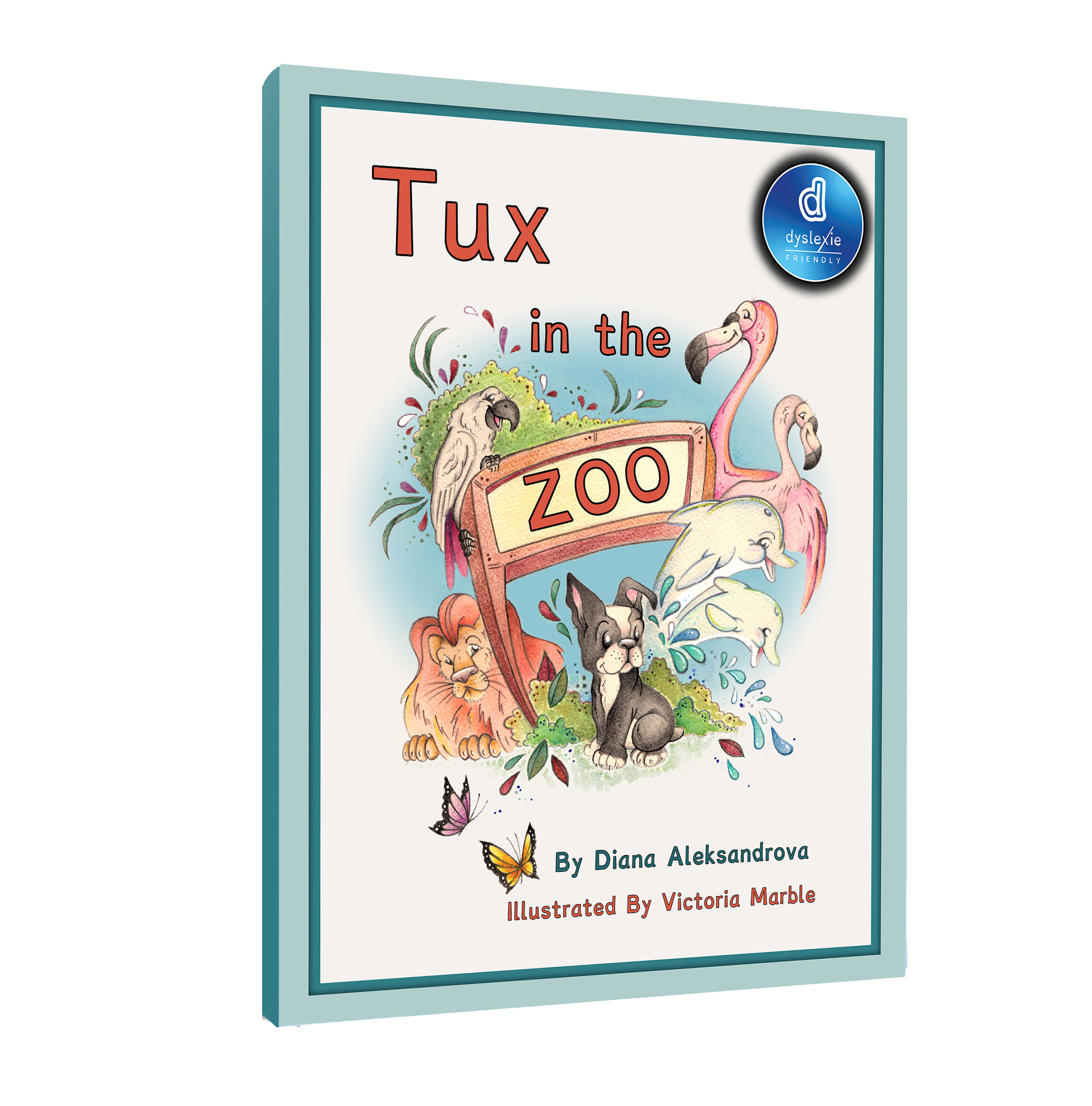 Tux in the Zoo