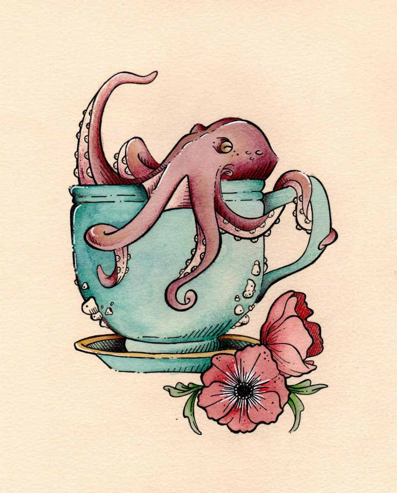 A Cup of Octopus