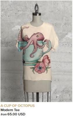 Octopus Modern Tee