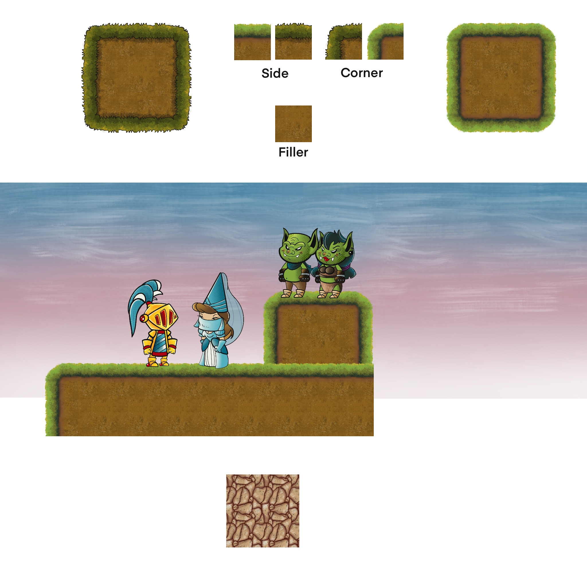 Terrain Tile Set
