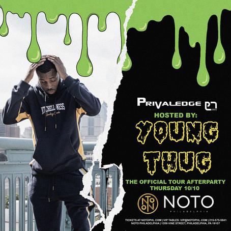Privaledge, Young Thug @ Club Noto