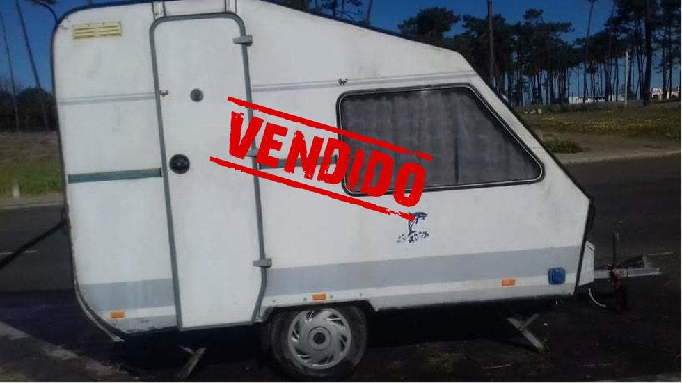 Caravana Rulote Pluma, Modelo 280, Caixa fechada, Reboque Campismo