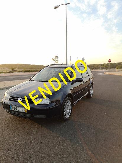 Volkswagen Golf Variant 1.4CV  (75CV);Confortiline 161782km 2002 Gasolina