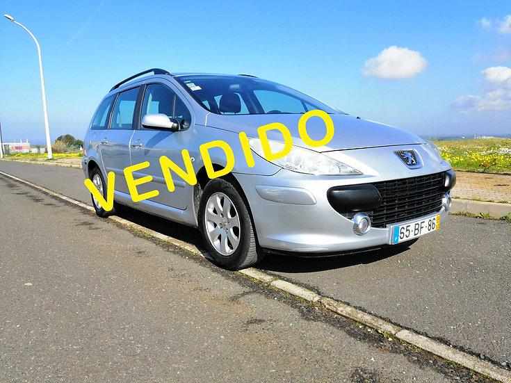 Peugeot 307 BREAK 1.6 HDI PREMIUM Manual Gasoleo 90CV, Manual 285177km 2006