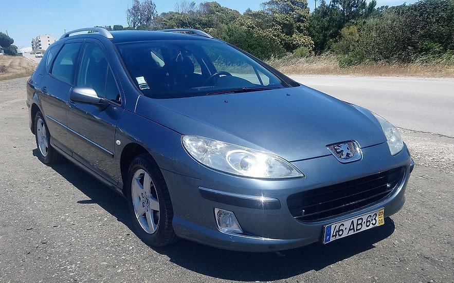 Peugeot 407SW Executive, Manual, Gasóleo, 1.6HDI, 81KW(109CV) 246070KM 2005 Lige