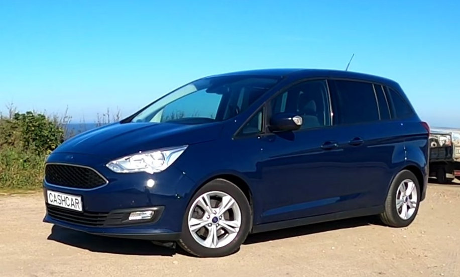 Ford Grand C-Max 1.5 TDCi 70kW S/S Business Edition 6v 7pl, Gasóleo - 2016
