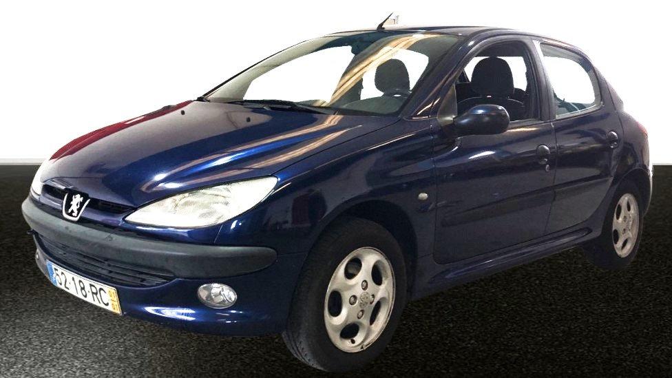 Peugeot 206 1.1 XT, 60 CV, 2001, Gasolina, 238.518Km, 45 KW (60CV)