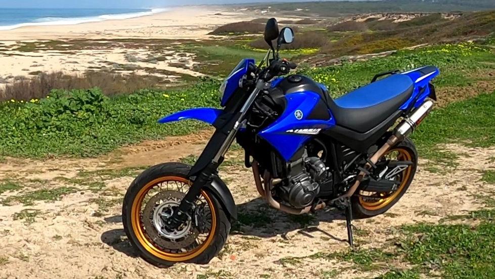 Moto yamaha,XT660X, 2008 Gasolina 18.750km