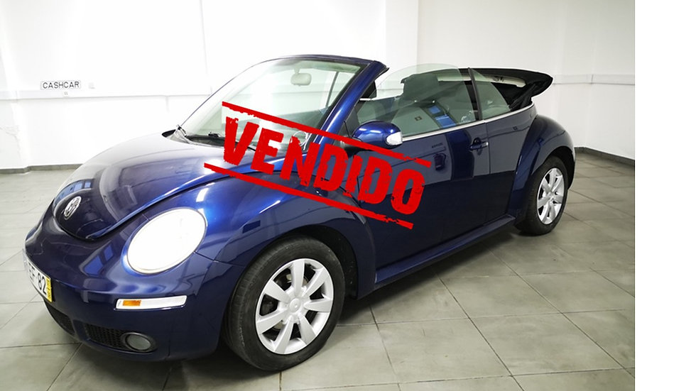 Volkswagen New BEETLE CABRIOLET 1.4 TOP - 75cv - 2007 - Gasolina - 54.950km