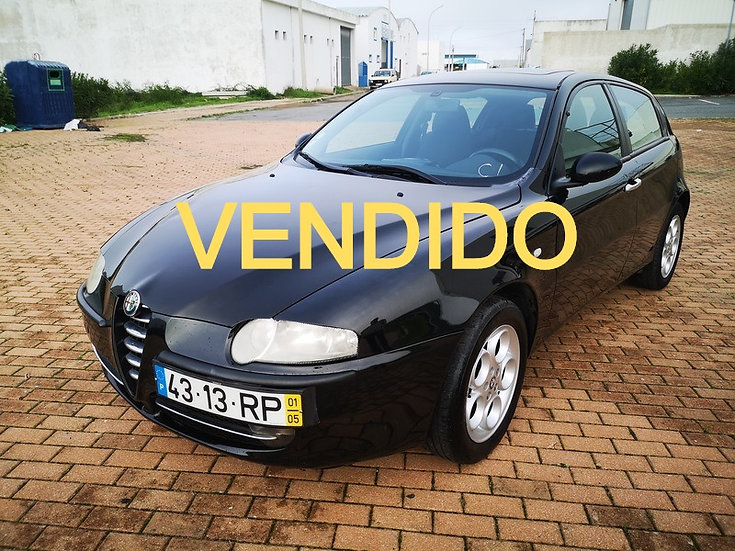 ALFA ROMEO 147 1.6 TS, 90KW(120CV), Gasolina, manual,2001