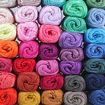 Colorful yarn