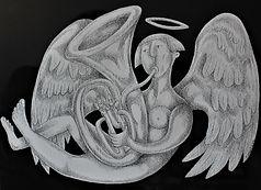 MUSICAL ANGEL Ink drawing.JPG