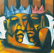 HEADS & BED ACRYLIC ON CANVAS.jpg