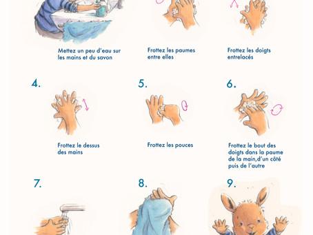 Lavez-vous les mains ! - Wash your Hands!