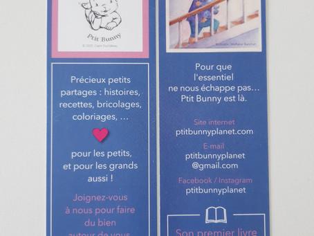 The Ptit Bunny Bookmark