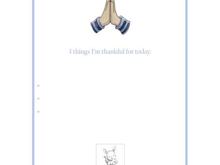 Ptit Bunny's Little Cards - Gratitude