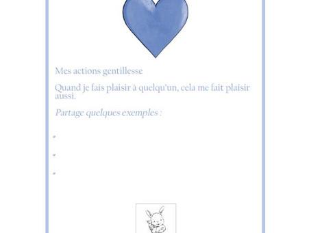 Ptit Bunny's Little Cards - Kindness